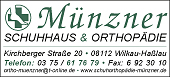 Münzner – Schuhhaus & Orthopädie