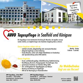 AWO Kreisverband Saalfeld-Rudolstadt e.V. – Tagespflege