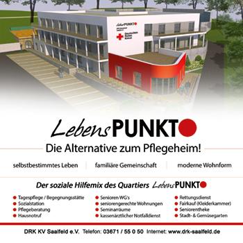DRK-Kreisverband Saalfeld e.V. – Lebenspunkt