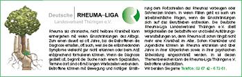 Deutsche Rheuma-Liga – Landesverband Thüringen e.V.