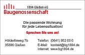Baugenossenschaft 1894 Gießen eG