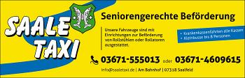 Saale Taxi – Lange & Lange GbR