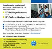 FSP Fahrzeug-Sicherheitsprüfung